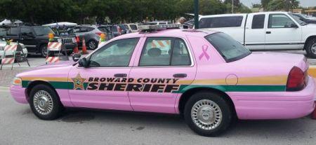 Pink Cop Car