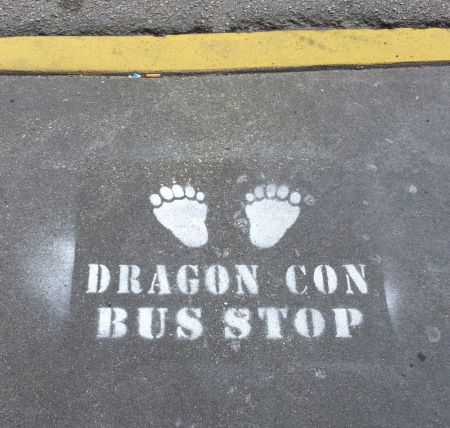 There was even a Dragon*Con bus route.
